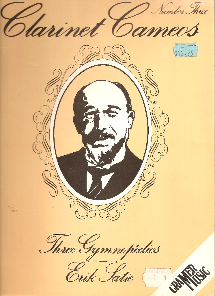 Clarinet Cameos Number Three Three Gymnopedies - Erik Satie