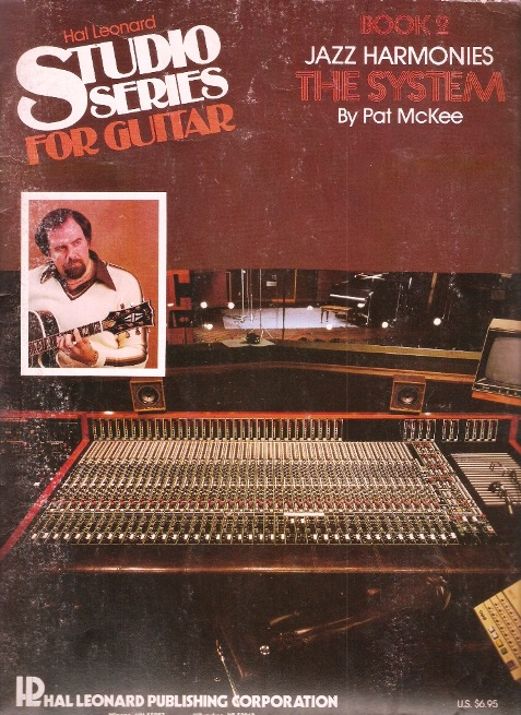 Hal Leonard Studio Series For Guitar Book 2 Jazz Harmonies The System small